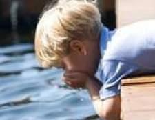 Efeitos da água do lago beber