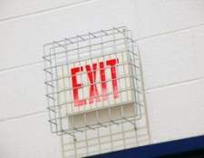 Evacuação de incêndio planos para escolas