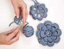 Instruções de crochet de forma livre