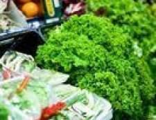 Frutas e legumes na época por mês