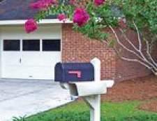 pós caixa de correio caseiro