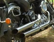 Como faço para limpar marcas de queimadura de uma moto escape cromado?