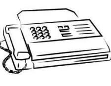 Como faço para enviar fax com um MX850 Canon?
