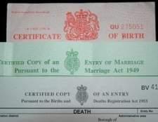 Como faço para obter a certidão de nascimento da minha filha?