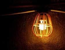Como faço para instalar a iluminação temporária para um local de trabalho?