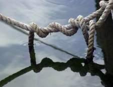 Como faço para soltar um nó na corda?