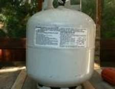 Como faço para encher os tanques de propano mais velhos?