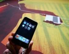 Como faço para registrar um Apple iPod Touch?