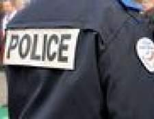 Como você lidar com o chefe de polícia em correspondência?