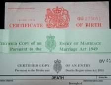 Como adicionar o nome de um pai para uma certidão de nascimento virginia