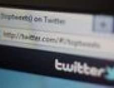 Como adicionar um feed twitter para qualquer página web
