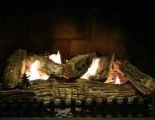 Como ajustar uma lareira a gás de chama desa