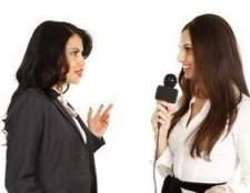 Como fazer perguntas sobre um talk show