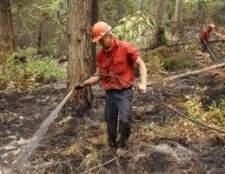 Como se tornar um bombeiro no Columbia Britânica
