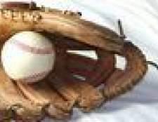 Como quebrar em uma luva de beisebol Rawlings
