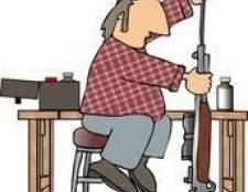 Como construir uma tabela de limpeza de arma
