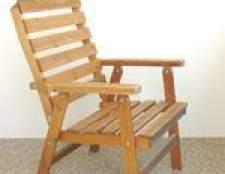 Como construir uma cadeira de madeira simples