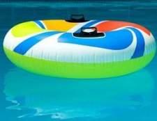 Como calcular a quantidade de areia é necessário para o andar de uma piscina acima do solo?