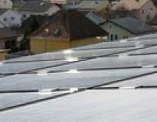 Como para calcular o número necessário de painéis solares