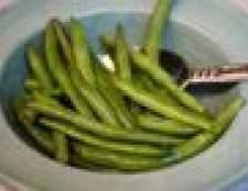 Como congelar feijões verdes frescos