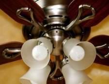 Como mudar um ventilador de teto