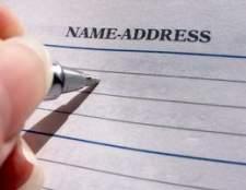 Como mudar o meu nome depois de um divórcio na Geórgia
