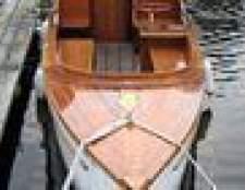 Como escolher a madeira para a popa do barco