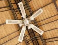 Como limpar um motor de ventilador de teto