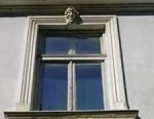 Como limpar janelas de batente