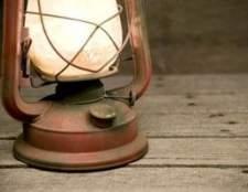 Como limpar lanternas de querosene