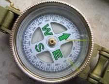Como converter um azimute de grade para magnética