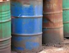 Como converter barris de petróleo ao volume
