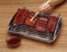 Como cozinhar com um estilo campestre costelas lombo de porco