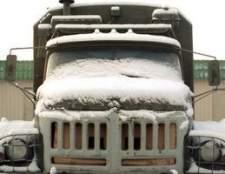 Como pôr em marcha um caminhão diesel quando a temperatura é fria