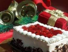 Como decorar uma mesa de buffet para o Natal