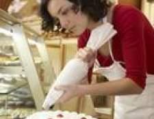 Como decorar um bolo com crosta de gelo
