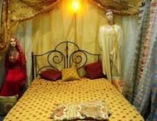 Como decorar uma cama de dossel