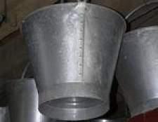 Como decorar baldes de estanho