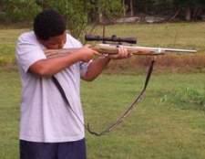 Como caçar veados com um rifle de ar