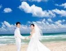 Como descrever o código de vestimenta para um casamento de praia em um convite