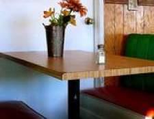 Como conceber cabines de estilo restaurante