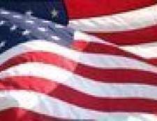 Como destruir plástico bandeiras americanas