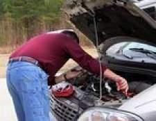 Como desconectar a bateria enquanto um carro está em execução
