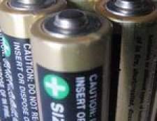 Como descartar as baterias de cloreto de zinco
