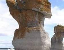 Como a pedra calcária com ácido dissolver