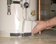 Como para drenar e remover um aquecedor de água