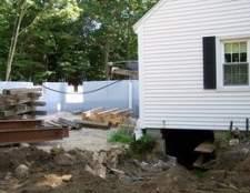 Como para drenar a água a partir do lado de uma casa