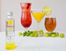 Como beber vodka ciroc