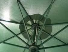 Como tingir um guarda-chuva pátio desbotada