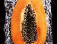 Como extrair o óleo das sementes de mamão
